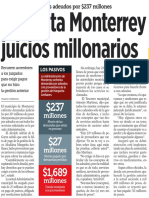 18-08-16 Enfrenta Monterrey juicios millonarios