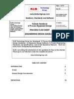 Kolmetz Handbook of Process Equipment Design - Process Flow Sheet
