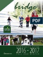 2016 Uxbridge Fall Winter Community Guide