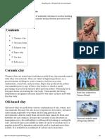 Modelling clay - Wikipedia, the free encyclopedia.