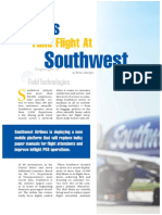"""iPads Take Flight at Southwest,"" Field Technologies, August 2016"
