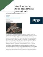 Expertos identifican las 14 faenas mineras abandonadas más riesgosas del país.pdf