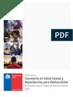 Consejeria en salud sexual  y Reproductiva Para Adolescentes Editada