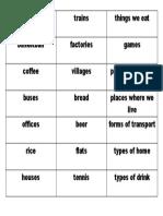 Noun Groups Game