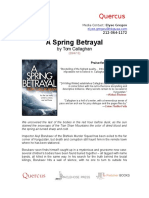 a spring betrayal- press release