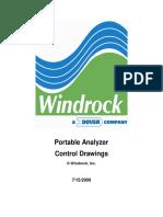 Portable Analyzer Control Drawings