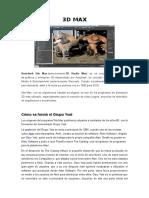 Tema 1-3D MAx