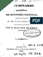 Diccionario Analítico de Economía Politica (escuela clásica).pdf