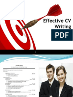 Effective Cv Writing