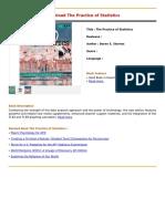 The Practice of Statistics.pdf