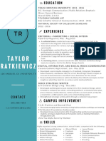 taylor ratkiewicz official resume
