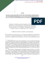 CLERICÓ - Modelo Integrado de Propocionalidad a La Luz de La Jurisprudencia CIDH