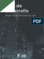 Bases del Plan Distrital de Desarrollo - Bogotá Mejor pa.pdf