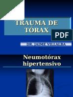 Caso Clinico Trauma de Torax