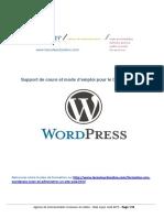 Mode Emploi Cours Wordpress