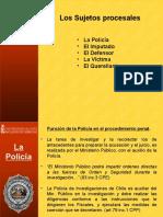 3.- Los Intervinientes 2008