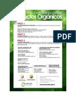 Flyer Certificados de Organicos c