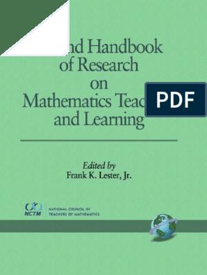 Second Handbook  pdf | Physics & Mathematics | Mathematics