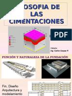 5.0 Filosofía de Las Cimentaciones 2015
