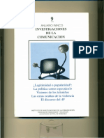 ANUARIO ININCO / Investigaciones de la Comunicación. VOL9. 1998. Texto completo para coleccionar. Versión Digital.