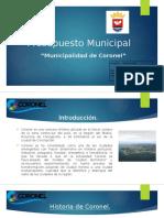 Presupuesto Municipal Coronel.