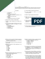 Tarea Primer Parcial QG1 2015