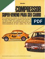 Fusca 1972-08 Turbo Para VW