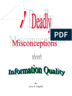 Larry English 7 Deadly Misconceptions About Information Quality