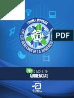 Primer Informe. Consejo de Audiencias 2015