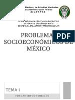 Problemas Socioeconómicos de Mexico