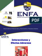 Interacciones y Efectos Adversos III v.2