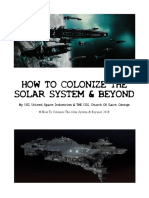 How to colonize the solar system & beyond