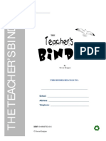 The Teachers Binder Interactive