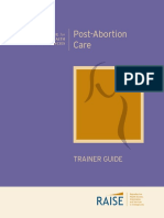 post abortion care trainer guide
