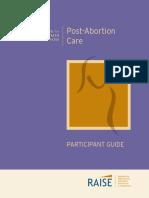 post abortion care participant guide