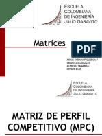 Matrices Mesp