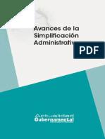 2016 Lv 05 Avances Simplificacion
