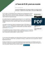 Cierre Del Gobierno_ El Tesoro de EE.uu