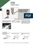 SUNX US N300 Ultrasonic Sensors