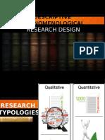 Descriptive Phenomenology