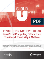 Cloud Computing vs Traditional IT