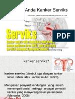 Penyuluhan KKN (Kanker Serviks)