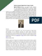 Bibliografía de Gobierno Del General Miguel Figueroa Fuentes
