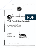 JTTF Reference Guide