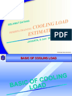 Cooling Load by Manual