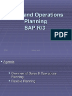 Flexible Planning in SAP