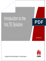 Introduction of VoLTE