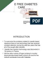 Needle Free Diabetes Care by  M.VENKATESH ASHOK B.SC MBA MPH (PUBLIC HEALTH)