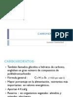 Carbohidratos - generalidades - metabolismo