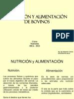 Nutrición y Alimentación de Bovinos